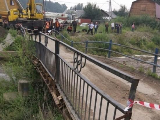 Мост через Ушаковку разберут в иркутском Копае