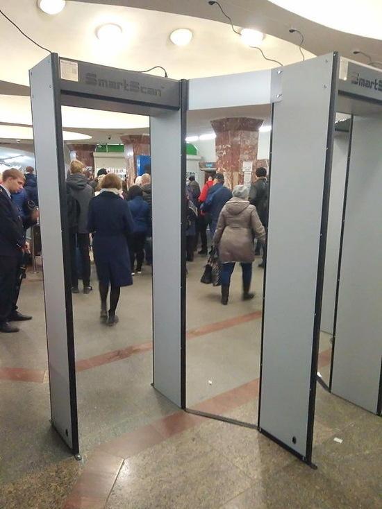 В новосибирском метро появятся новые металлодетекторы