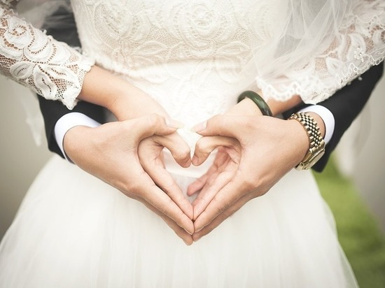 За полгода в Тульской области зарегистрировали свыше 2 тысяч браков