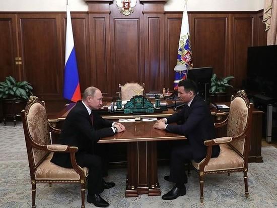 Бату Хасиков доложил президенту страны о ситуации в Калмыкии