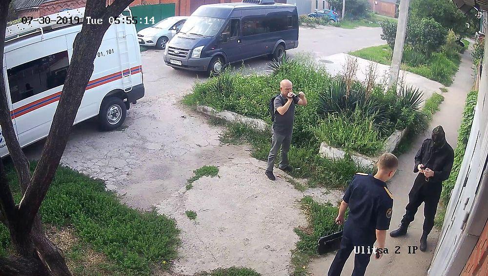 Обыск у координатора Эковахты Андрея Рудомахи