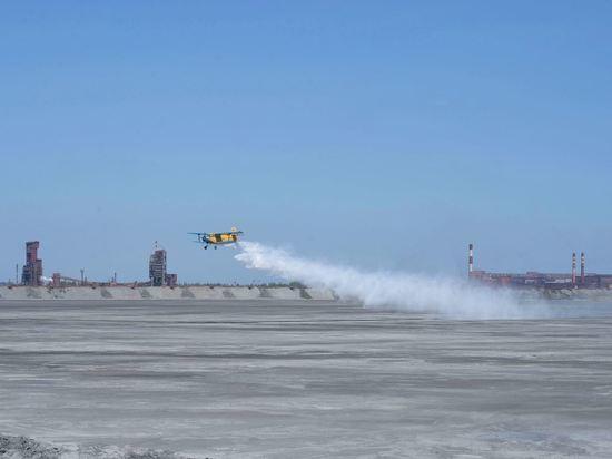 На Лебединском ГОКе эффективно решают проблему пыления