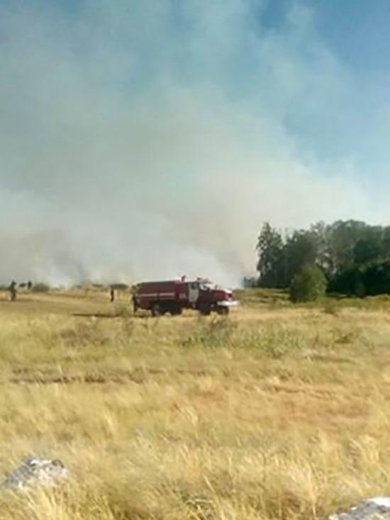Природный пожар в Башкирии: в Зилаирском районе горят 76 га леса