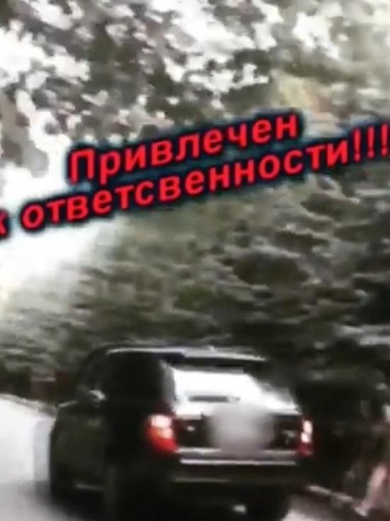 В Ставрополе «награда» нашла гонявшего по аллее «героя»