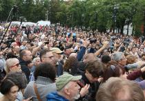 Вне системы мирных митингов