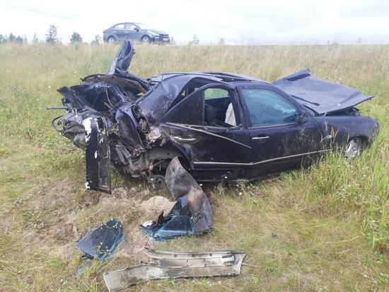 Страшная авария на трассе в ЯНАО: двое в больнице