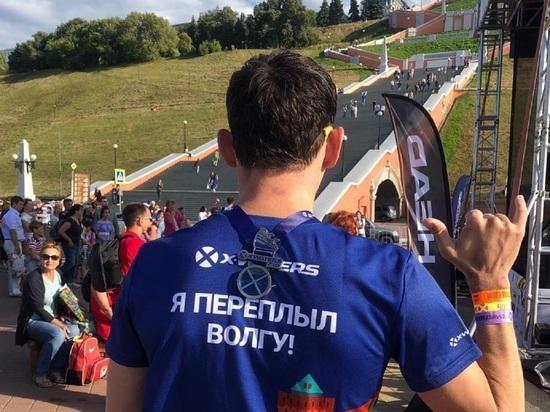 Ставрополец перепыл 5 километров Волги за 1,5 часа