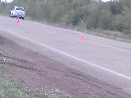 В Курманаевском районе машина насмерть сбила 20-летнего пешехода