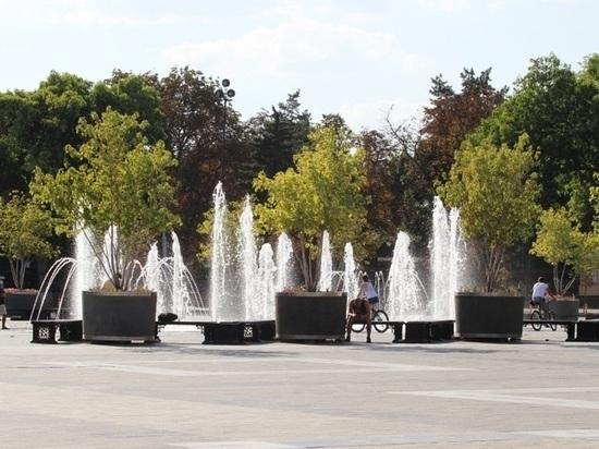 В день ВДВ в Краснодаре отключат фонтаны