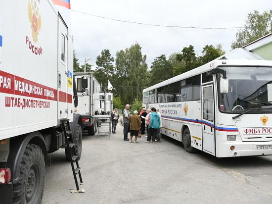 Из Абхазии - в Алексин. Столичные медики начали осмотр жителей Тульской области