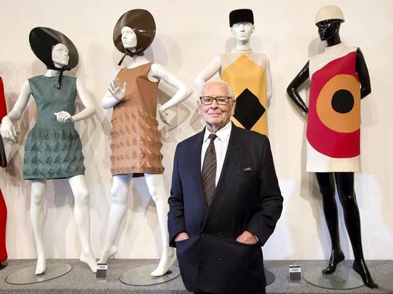 Пьер Карден в Бруклинском музее