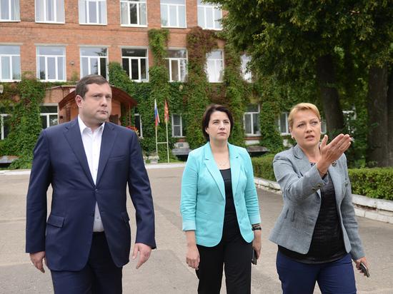 Глава региона предпринял рабочую поездку по Смоленску