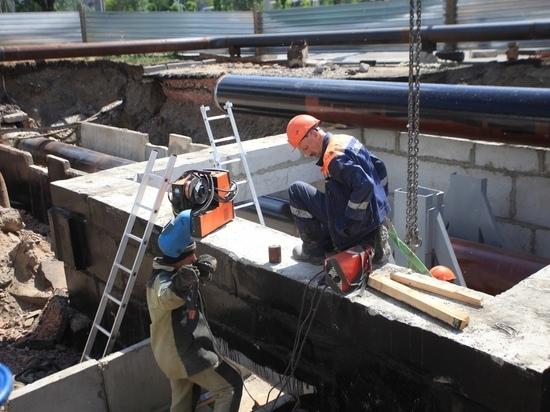 Из-за ремонта теплосетей в августе горячую воду отключат в некоторых районах Барнаула: карта