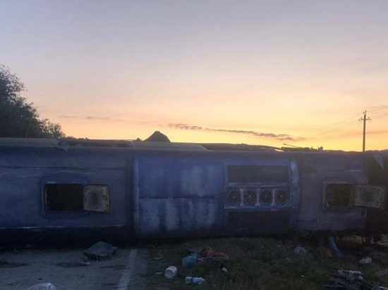 5 человек погибли и 18 пострадали в ДТП с автобусом на Ставрополье