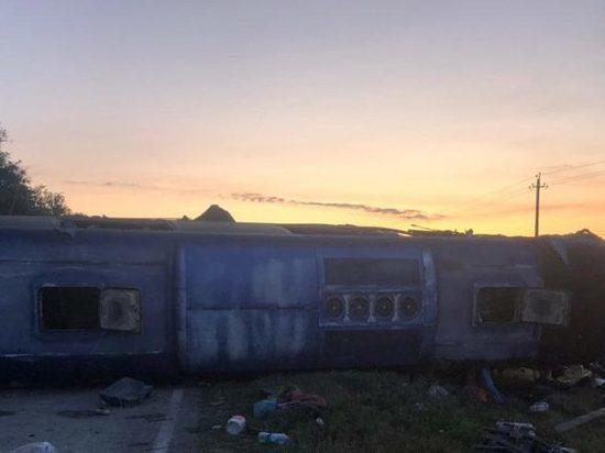 Губернатор: в ДТП с автобусом на Ставрополье 5 жертв и 15 пострадавших