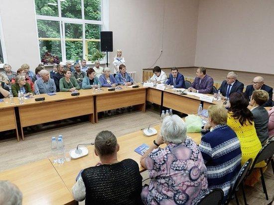 О чем был разговор у тульского губернатора со старостами в Куркино