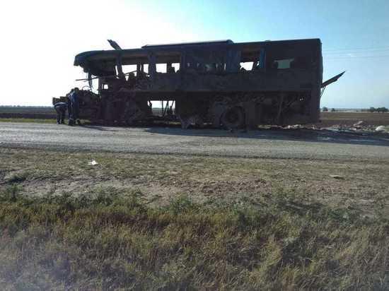 Следствие выяснит исправность попавшего в ДТП автобуса на Ставрополье