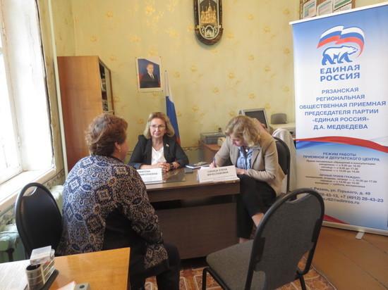 Татьяна Панфилова провела личный прием в Кадомском районе