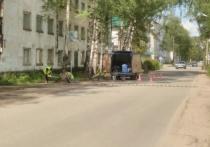 В Осташкове устанавливают «лежачих полицейских» возле социальных учреждений
