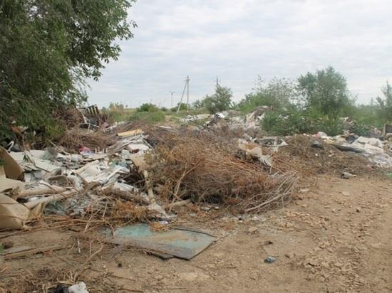 На несанкционированной свалке в Оренбурге сжигают токсические отходы