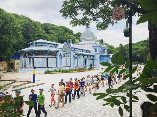 Free Wi-Fi зонами «покрыли» Курортный парк Железноводска