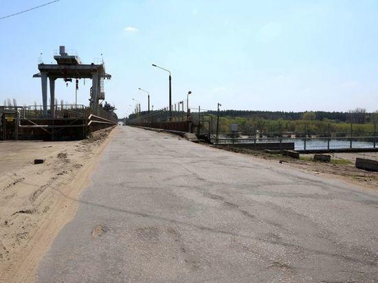 В Воронеже перекроют мост через водосброс водохранилища