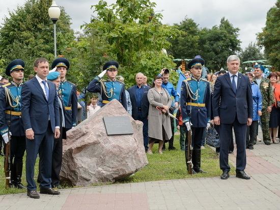 В Воронеже заложили первый камень в основание музея ВДВ