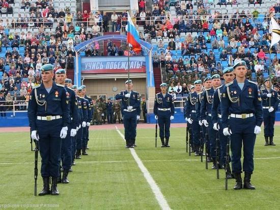Праздник «Рязань – столица ВДВ» завершился исполнением песни «Синева»
