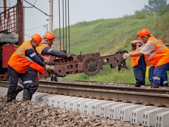 На ЗабЖД применили новую технологию ремонта для ускорения поездов