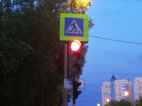 В Оренбурге на асфальте призывают «Беречь свою жизнь»