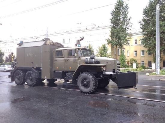В Петербурге проходит акция солидарности с Москвой