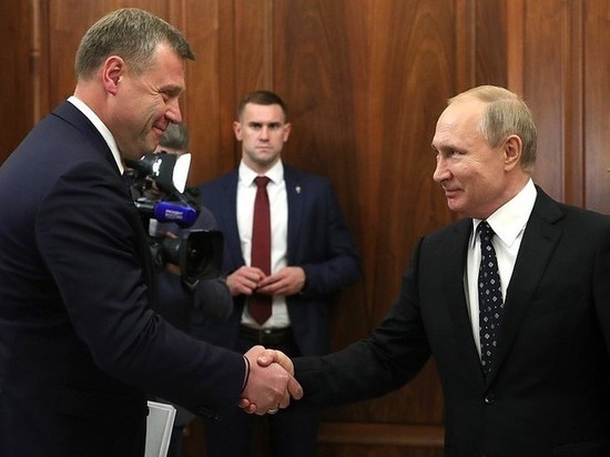 Владимир Путин встретился с Игорем Бабушкиным