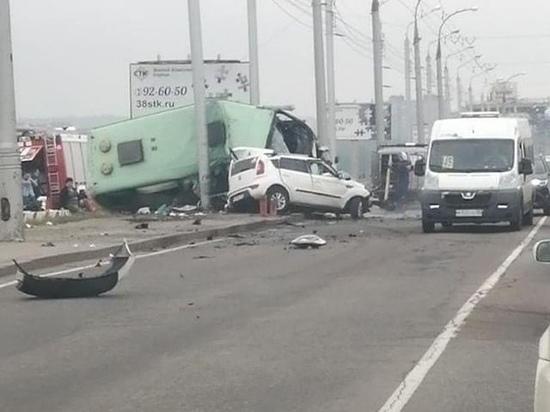 Водителя автобуса, совершившего смертельное ДТП на плотине в Иркутске, арестовали