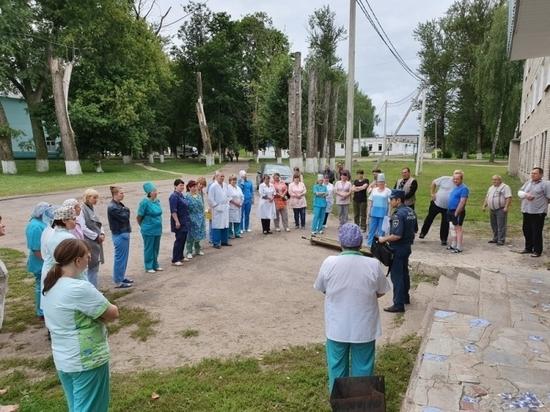 В Смоленской области эвакуировали Рославльскую больницу
