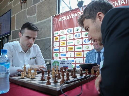 Сергей Карякин обыграл Эрнесто Инаркиева на шахматном турнире в Ингушетии