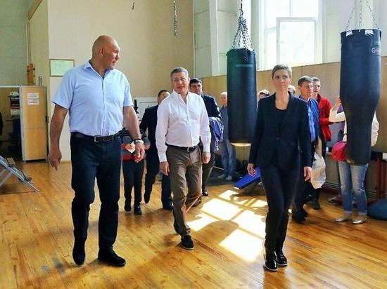 В Уфе может появиться школа бокса Николая Валуева