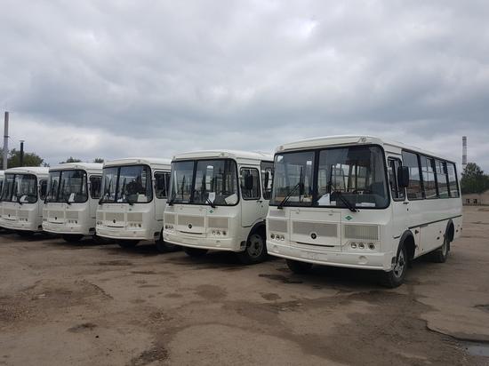 В Арзамас прибыли 11 новых автобусов