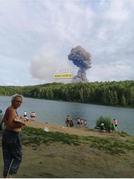 Под Ачинском взорвался склад боеприпасов: жителей эвакуируют