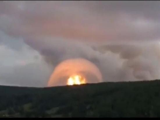 Губернатор Усс назвал ситуацию со взрывами под Ачинском критической