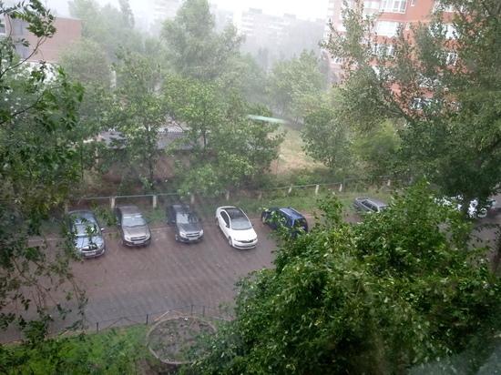 Оренбургская область во власти ветра и дождя
