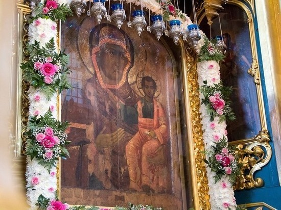 Торжества в честь праздника иконы Божией Матери «Одигитрия»