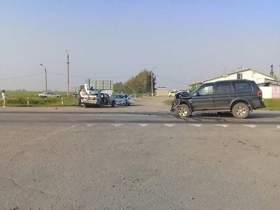 В ДТП в Усольском районе пострадали три человека, в том числе ребёнок
