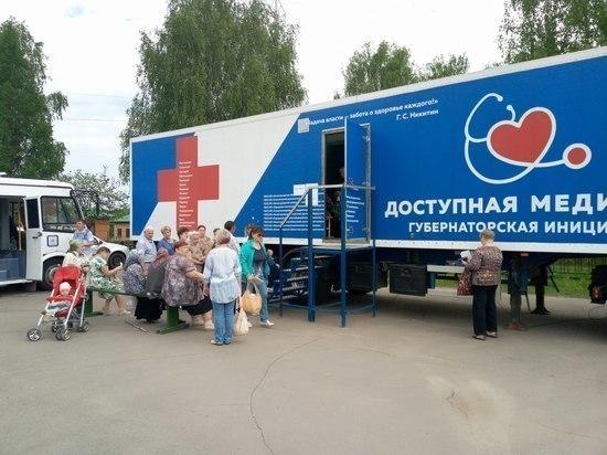 Около двух тысяч заболеваний выявили «Поезда здоровья» в Нижегородской области