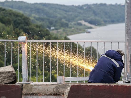 На Мызинском мосту выполнено 97% ремонтных работ