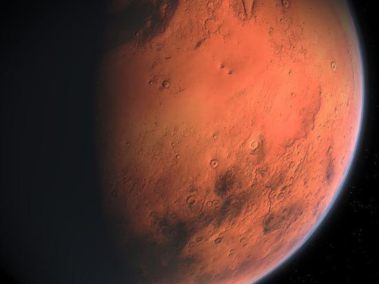 Кратер Ломоносов на Марсе объявили «эпицентром» древнего цунами