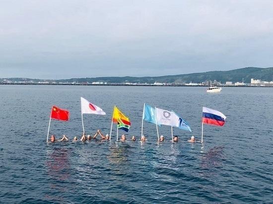 Сахалинцы доплыли «от березки до сакуры»