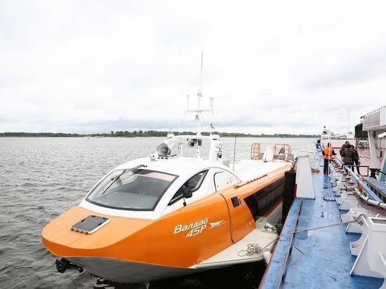 Суда на подводных крыльях начали ходить в Нижегородской области