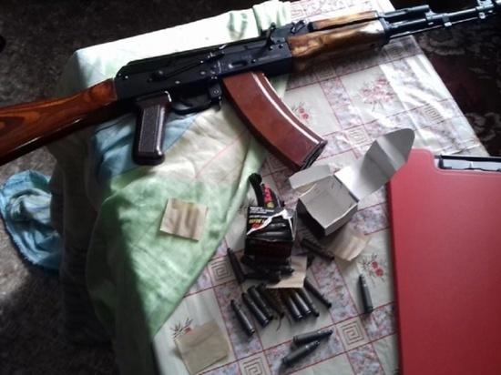 Тамбовчанин превратил дом в оружейный склад