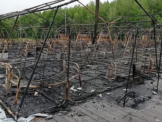 Фургал сообщил о недействительном сертификате на палатки в сгоревшем лагере в