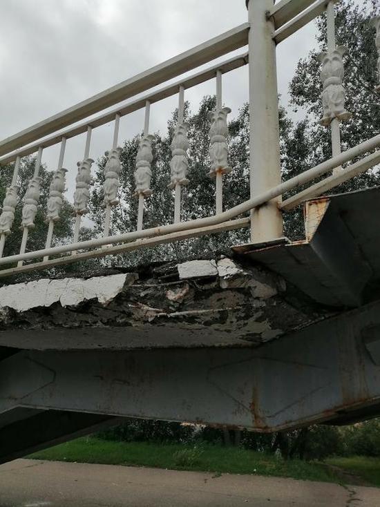 В Оренбурге спуск в Зауральную рощу требует ремонта